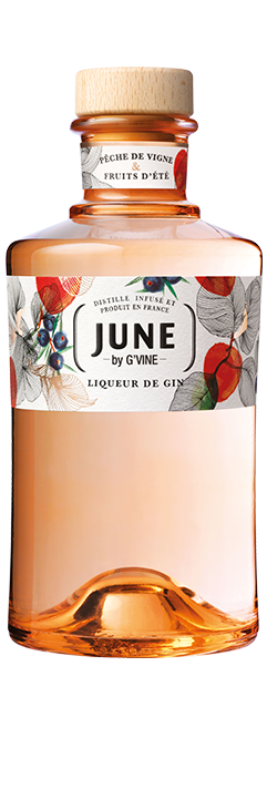 June Gin Liqueur June Wild Peach Renaissance Spirits
