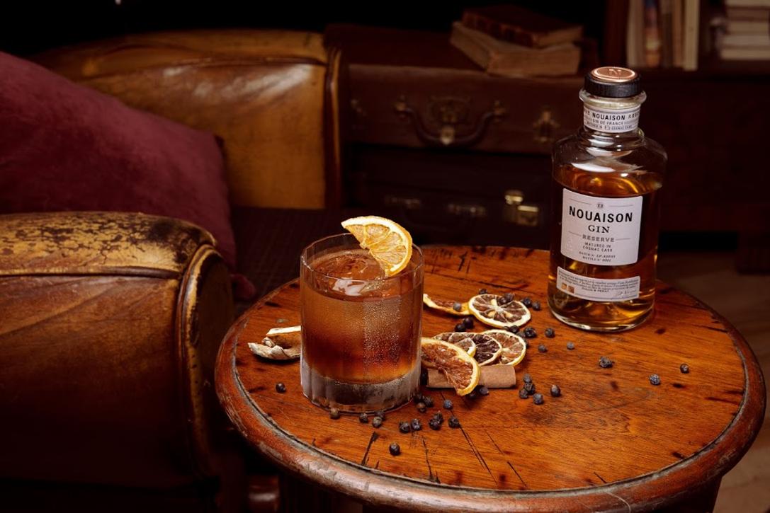 Nouaison Réserve : Nouveau Gin vieilli en fût de cognac